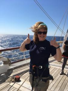 Mast Climb Kathy